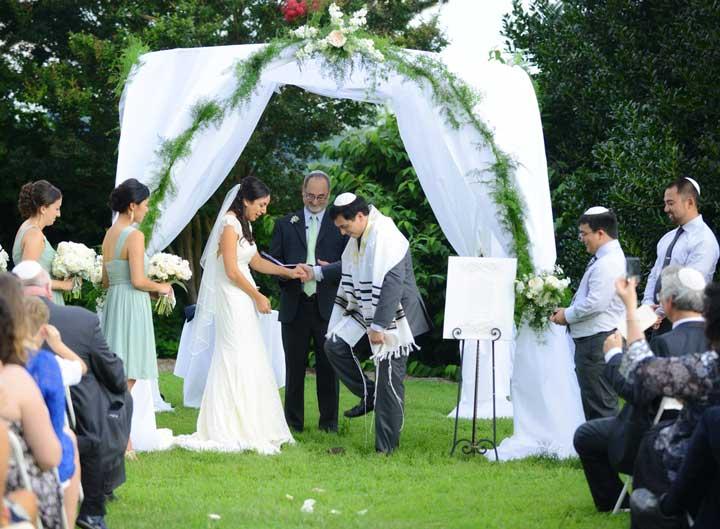 Выездная еврейская свадьба