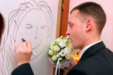 Организация быстрого свадебного