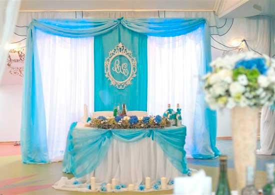 Стиль тиффани в оформлении свадьбы