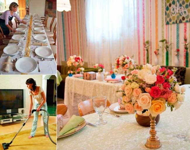 Оформляем свадьбу в доме
