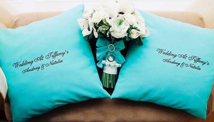 Подушки на свадьбу