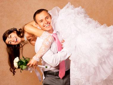 Похищение и выкуп невесты на свадьбе