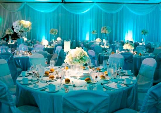Рассадочные карточки на свадьбе Тиффани