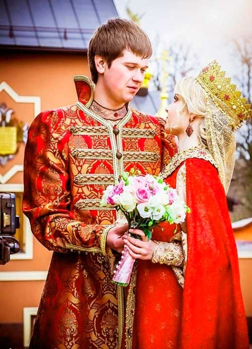 Выкуп на свадьбе в стиле Ивана Царевича