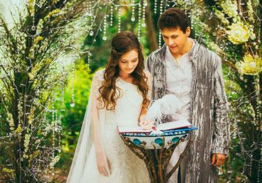 Свадьба в стиле эльфов