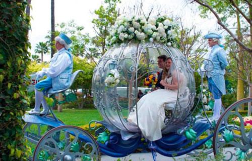 Свадьба в стиле золушки