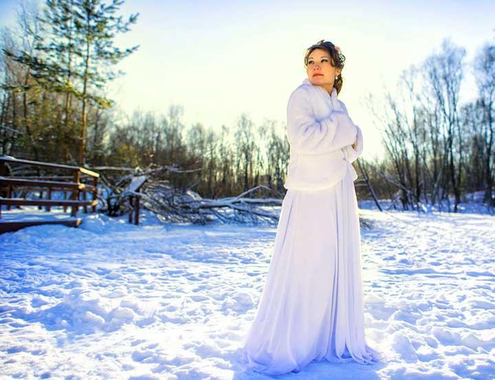 Снежная королева на свадьбе