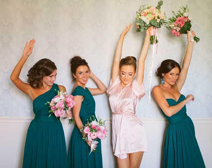 Современнный выкуп в квартире невесты