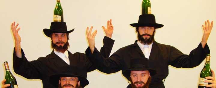 Танцы у евреев на свадьбе