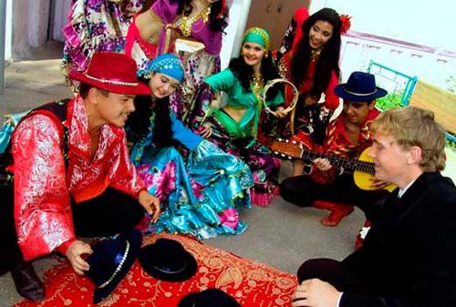 Цыганский выкуп на свадьбе