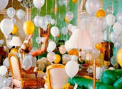 Выкуп невесты и украшение шарами