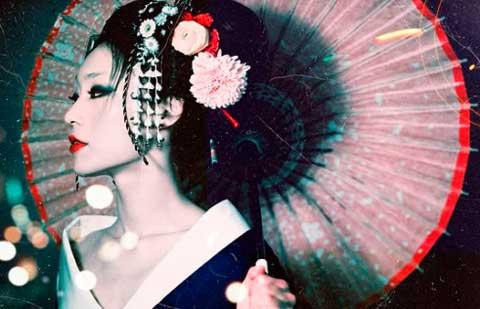 Свадебный образ японской невесты