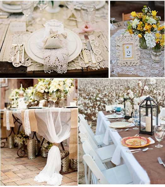 Банкет на французской свадьбе