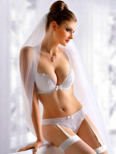 белье белое для брачной ночи