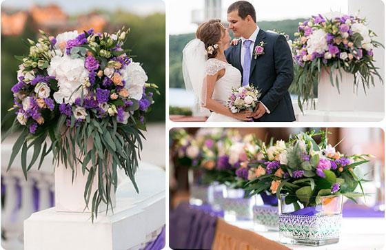 Декор и букет украшения на свадьбу