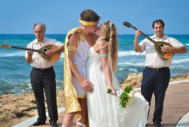 Греческая свадьба и её оформление