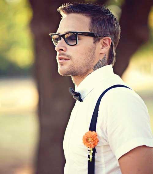 Рубашка и очки на свадьбе