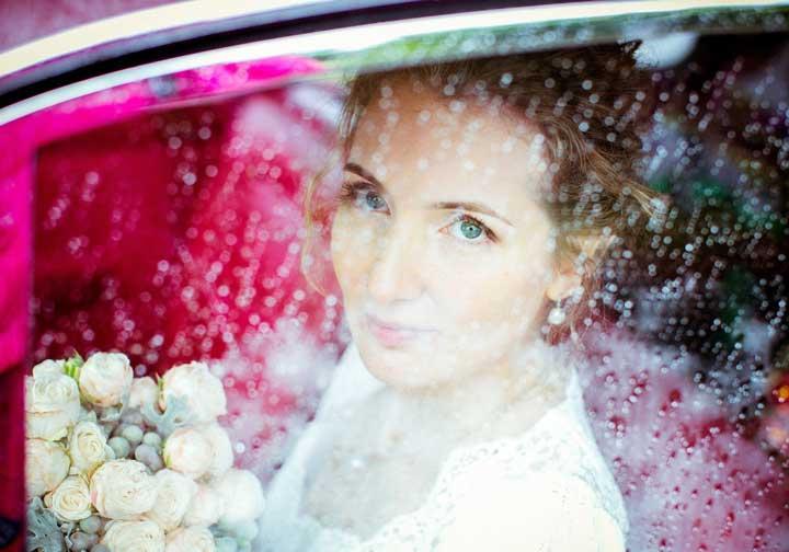 Дождь на свадебной видеосъемке
