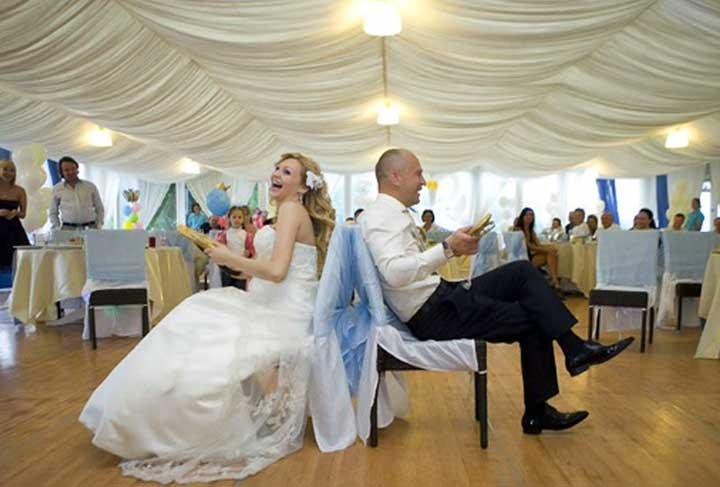 Вопросы на свадьбу