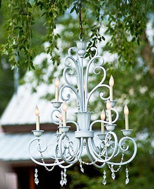 Выбор люстры на свадьбу