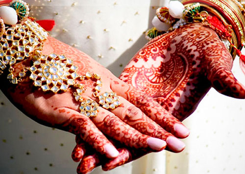 Мехенди на свадьбу