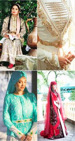 Невесты в татарском стиле