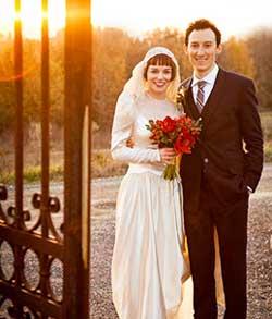Образ жениха винтажной свадьбы