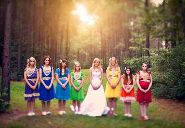 Устраиваем радужную свадьбу