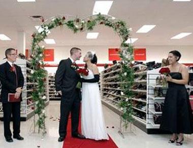 Свадьба в любимом магазине