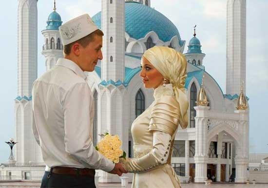 Празднуе5м свадьбу в мечети