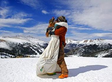 День влюбленных в горах