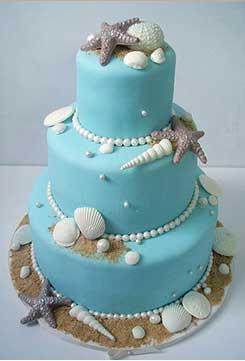 торт-на-свадьбу-в-морском-стиле