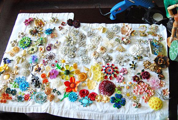 Цветы и свадебные украшения в стиле hand made