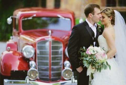 Цвет автомобиля на свадьбе