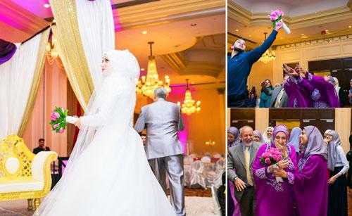 Яркая масульманская свадьба