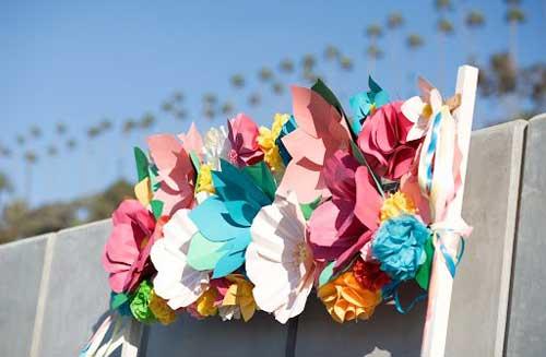 бумажные-цветы