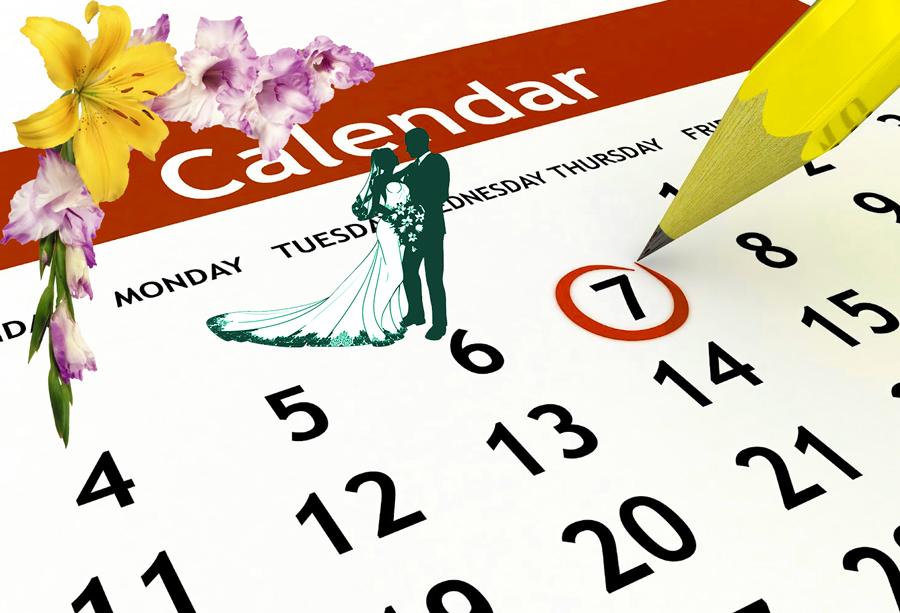 Планирование даты свадьбы