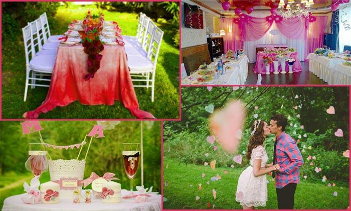 Место проведения розовой свадьбы