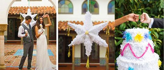 Пиньята на свадьбу