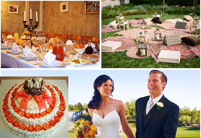 Празднование каменной свадьбы