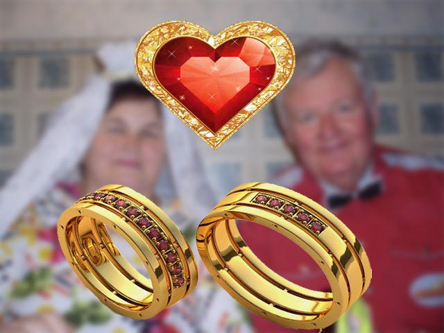 Традиции рубиновой свадьбы