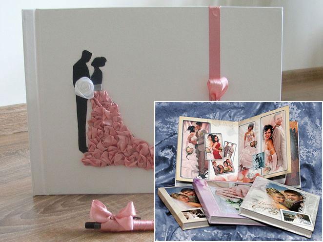 выбор обложки свадебного альбома