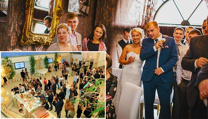 Как сделать свадебный фуршет вместо банкета?