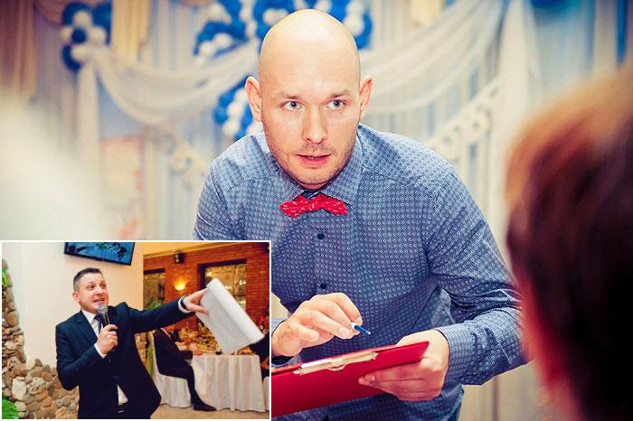 обсуждение сценария свадьбы с тамадой