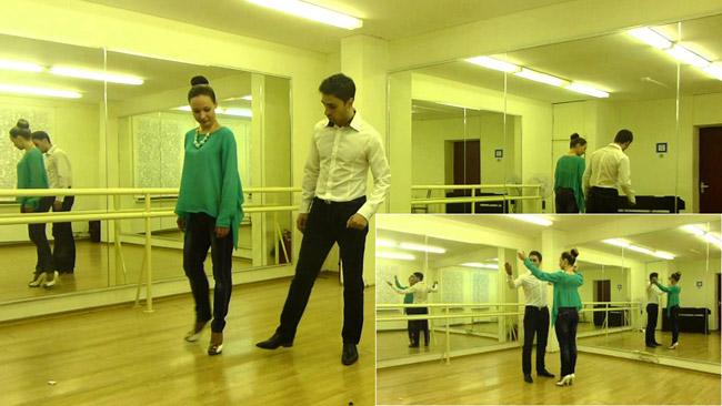Самостоятельная тренировка свадебному танцу