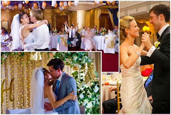 Свадебное горько и первый танец