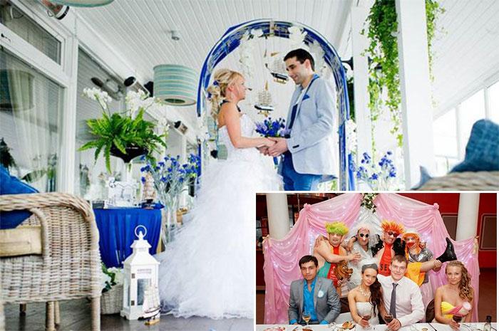 Свадебное оформление зон отдыха