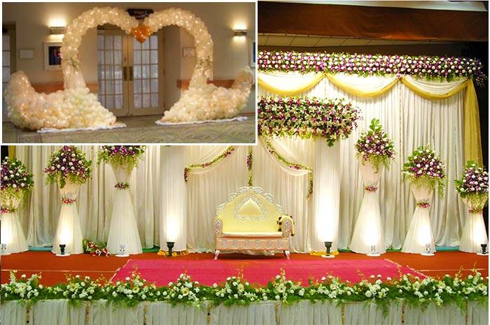 Свадебные зоны для фотосессий