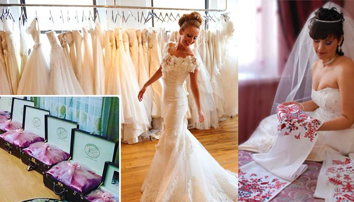 Традиционный свадебный наряд и приданое