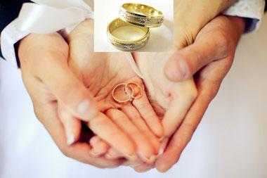 Ручной уход за обручальными кольцами